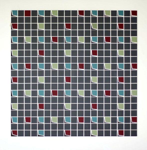 Fields, 2017#Acryl auf Leinwand#80 x 80 cm