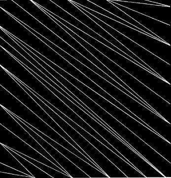 white lines on black ground-abstraction