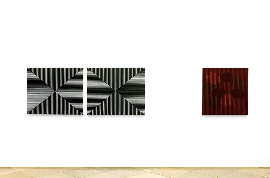 Ausstellung, Abstrakt 1-Galerie Artmark Wien-Christian Eder