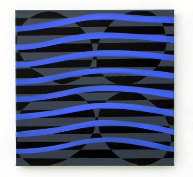 blue waves-painting-eder