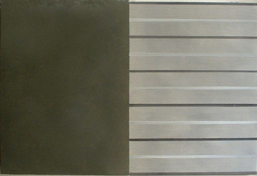 Grau,  2004#Öl auf Leinwand#24 x 30 cm