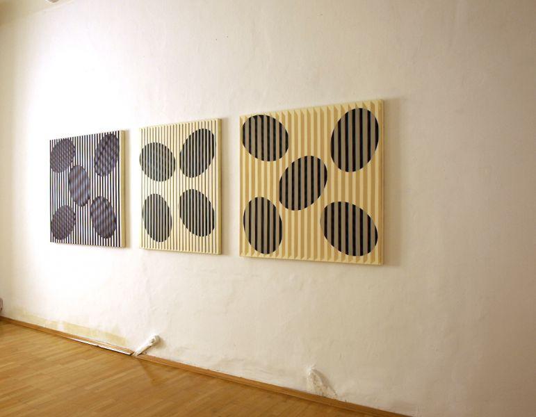 Ovalformationen-Ausstellungsansicht