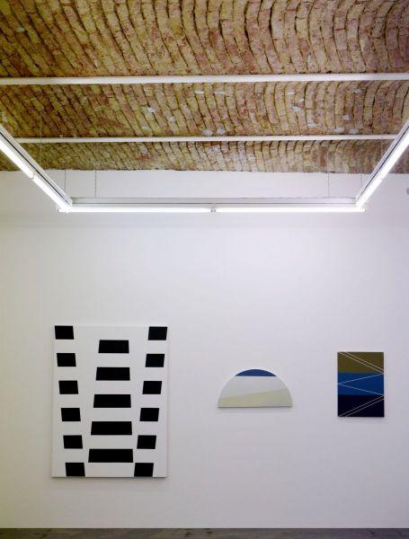 Ausstellungsansicht, Galerie Feichtner Wien