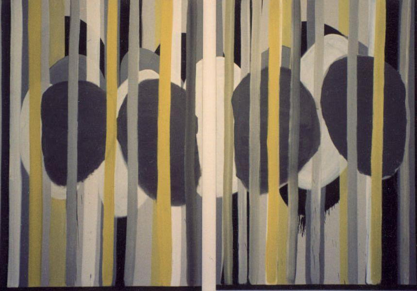 Formation, 2004#Öl auf Leinwand#200 x 280 cm