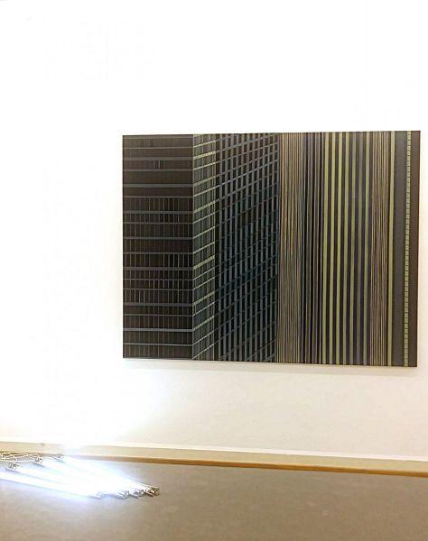 eder-space-greetings from manhattan-new york-paintings