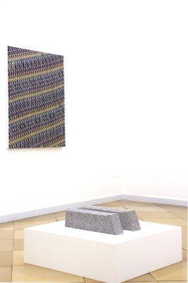 Ausstellungsansicht-christian eder-galerieansicht-Malerei -Skulptur