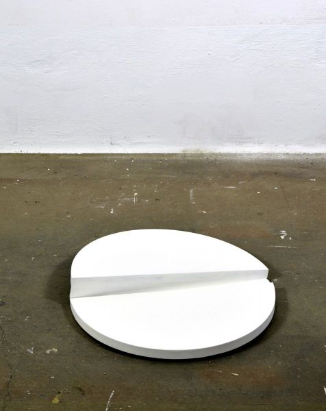 Objekt aus zwei Kreissegmentens-sculptures-eder