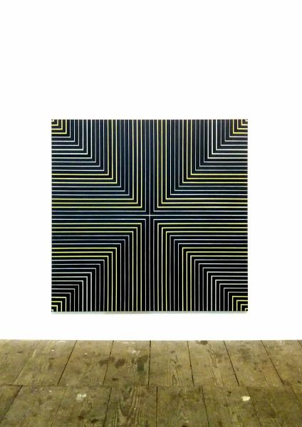 artwork in space-schloss lamberg-steyr -painting