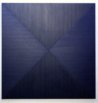 blue lines on black canvas-bilder-2008