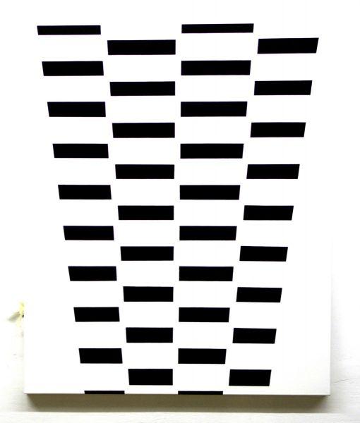 Vertikale Reihe, 2019#Acryl auf Leinwand#120 x 100 cm