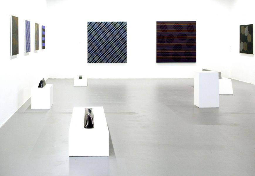 Ausstellungsansicht, Linz, Galerie Brunnhofer