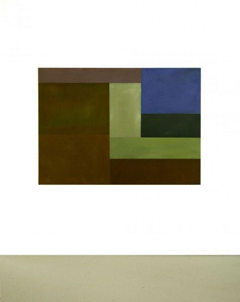 Christian Eder, Malerei, Farbflächen-Komposition