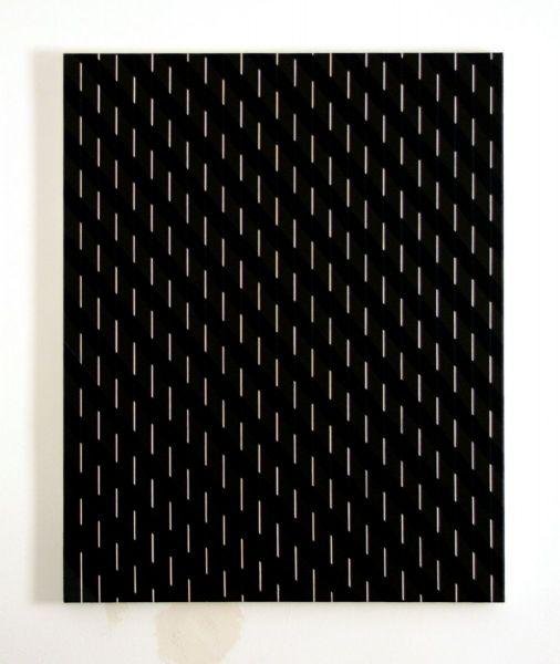 Black Stripes and Lines, 2019 - Atelier Christian Eder