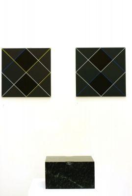 Ausstellungsansicht#Galerie Artmark, Wien, art