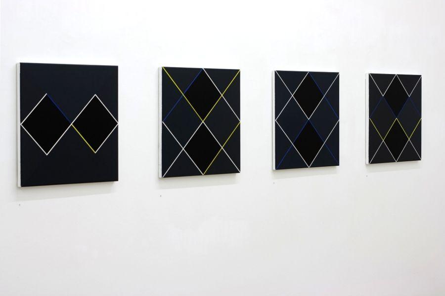 Linien und Flächen, Malerei, Christian Eder, art