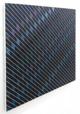 Diagonale Anordnungen, Malerei, art, eder art