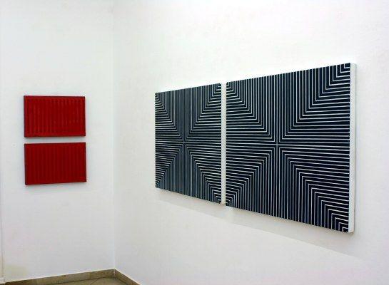 Abstraktionen, Abstrakt 1-Christian Eder, Galerie Artmark Wien